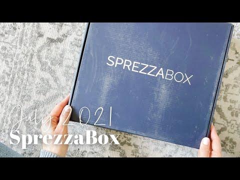 SprezzaBox Unboxing July 2021