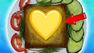9 Удивительных Идей с Едой! Самоделки из Еды! Лайфхаки с Едой!
