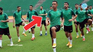 الحصة التدريبية الأخيرة للمنتخب المغربي قبل مواجهة أفريقيا الوسطى وتصريح احترافي من هاليلوزيتش