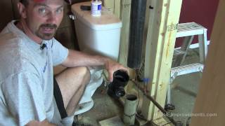 How To Cut And Replace Cast Drain Pipe