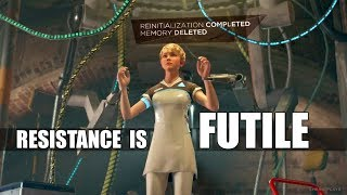 """Detroit Become Human - """"What Happens If"""" Kara Remains Reset - Resistance Of Zlatko Is Futile"""
