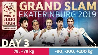 Judo Grand-Slam Ekaterinburg 2019: Day 3
