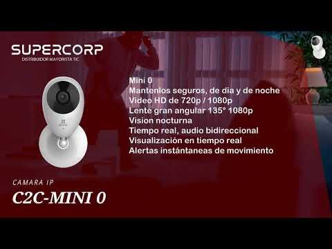 CÁMARAS DE SEGURIDAD IP WIFI 720P - SUPERCORP PERU