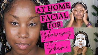 HOW TO DO YOUR OWN FACIAL AT HOME (STEP BY STEP SPA-LEVEL FACIAL FOR GLOWING SKIN!)