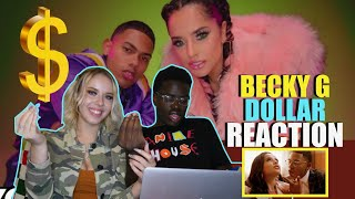 Becky G, Myke Towers   DOLLAR (Official Video) REACTION