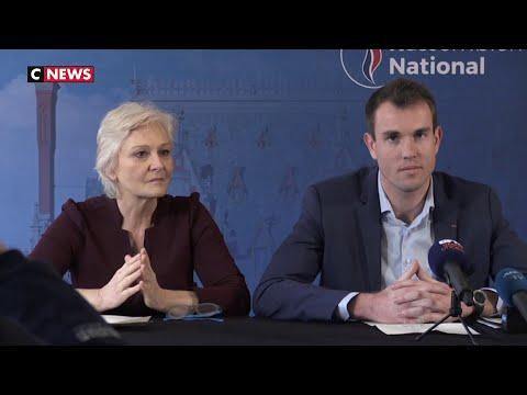Marie-Caroline Le Pen, candidate RN aux municipales à Calais Marie-Caroline Le Pen, candidate RN aux municipales à Calais