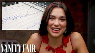 Dua Lipa Takes A Lie Detector Test | Vanity Fair