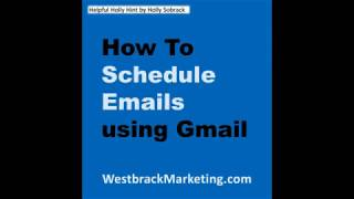 How to schedule your emails in Gmail