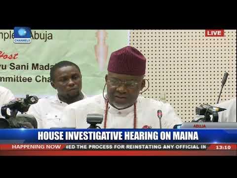 Mainagate: AGF Malami, Oyo Ita,Magaji Answer Questions Pt.4 |Live Coverage|