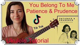 eddie vedder tonight you belong to me ukulele tutorial