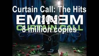 Eminem official worldwide album sales
