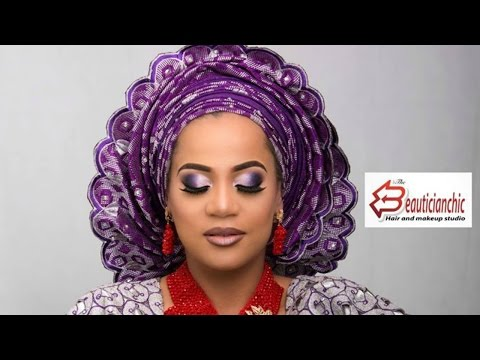 MAKEUP AND GELE|YORUBA BRIDE|NIGERIAN WEDDING COMPLETE EP4
