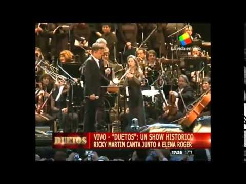 (VIDEO COMPLETO) Ricky Martin en «Duetos», Argentina (27.06.2015)