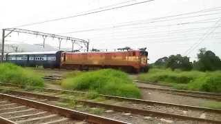 preview picture of video '18610 Ranchi Weekly Express Led By ET WAM4[HD 720p]'