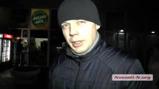 """Видео """"Новости-N"""": Пьяные военные в Николаеве"""
