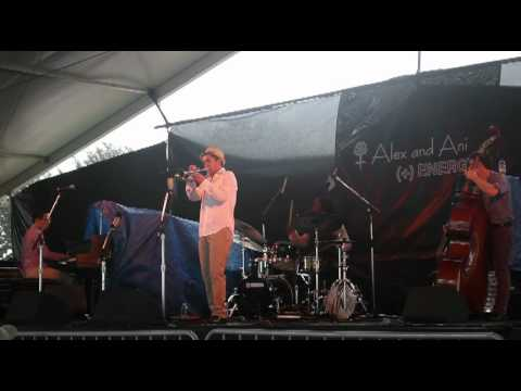 At the 2011 Newport Jazz Festival with the Mario Castro Quintet