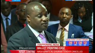 Milimani court in session : The court to give NASA and IEBC the final verdict