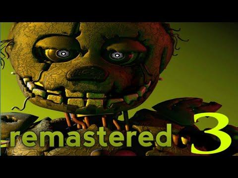 Five Nights at Freddy's 3 Remastered Nights1&2 - смотреть