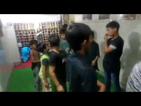 Anjuman e shabihe payambar ending ...a-Hussain badshah .. inside the dargah of (ya abul fazil abbas)