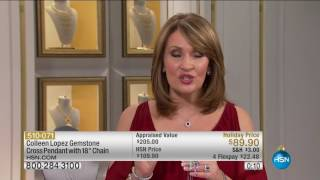 HSN | Colleen Lopez Gemstone Jewelry 11.08.2016 - 08 PM