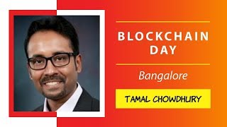 Tamal Chowdhury presenting Blockchain with AI and IoT: The Power of Technological Convergence