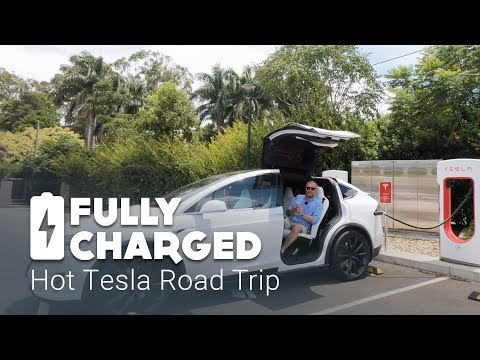 Hot Tesla Road Trip | Fully Charged