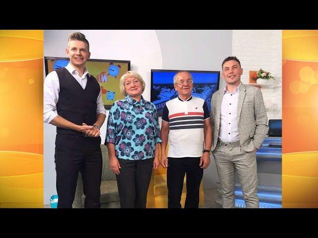 Гости программы «Новый день» Александр Варенков и Ольга Ломанова