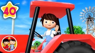 La canción del tractor - Parte 2 | Nanas para bebés | Little Baby Bum - Canciones Infantiles