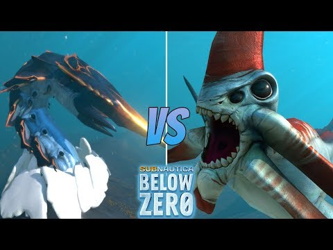 NEW* BIGGEST LEVIATHAN! Chelicerate || Subnautica Below Zero