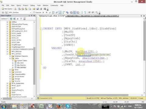 VD03 - Câu lệnh SQL cơ bản