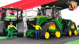 BRUDER Tractor JOHN DEERE 9620RX | Best of John Deere
