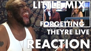 Little Mix FORGETS They're Live - MOMENTS | REACTION
