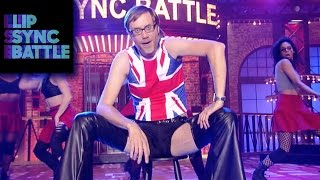 Stephen Merchant's Dirrty vs. Malin Åkerman's Talk Dirty | Lip Sync Battle