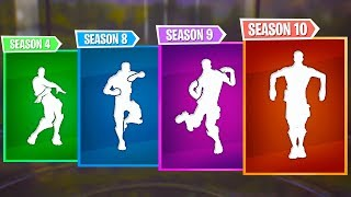 Top 5 Best Fortnite Dances of Every Season | Season 1-10