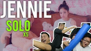 B*TCH, JENNIE GOING SOLO (x5 MV Reaction)