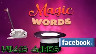 Magic Words Juego de palabras Gratis Facebook y PC