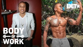 Power's Rotimi Spends Only 30 Minutes In The Gym And Still Gets Ripped Abs! | Body Of Work
