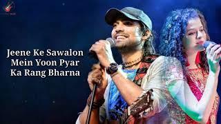 Dhadkan Lyrics - Jubin Nautiyal, Palak Muchhal - YouTube