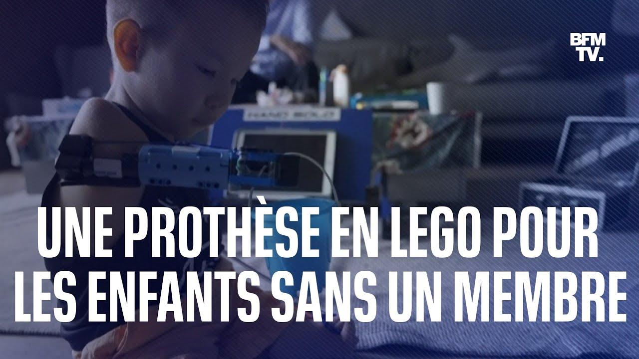 Une prothèse en lego pour aider les enfants nés sans un membre