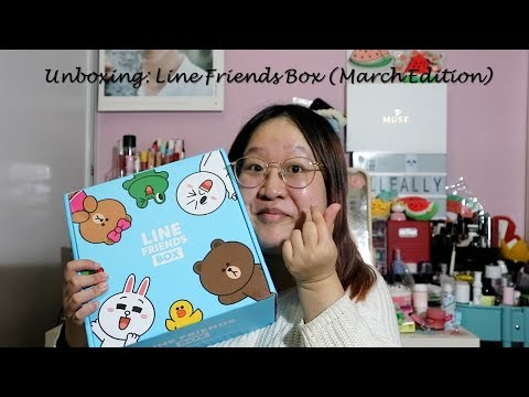Unboxing: Line Friends Box (March Edition)