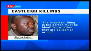 Inspector General of police-Joseph Boinnet orders investigations into video showing police killing