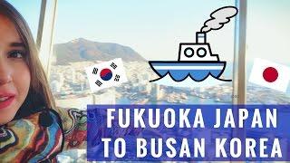 Neem de ferry van Fukuoka naar Busan