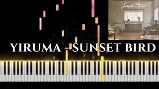 Yiruma - Sunset Bird ( Piano Tutorial )