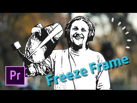 FREEZE FRAME SEQUENCE EFFECT - Premiere Pro tutorial