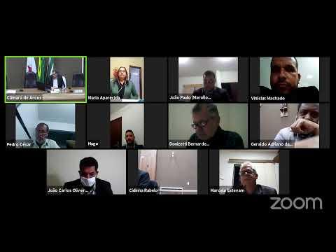Reunião Ordinária (01/06/2020) - Câmara Municipal de Arcos