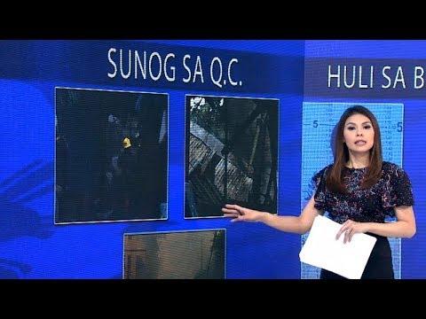 Tatlong bahay, nasunog sa Quezon City
