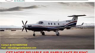 Low Fare King Air Ambulance services from Chandigarh and Bhubaneswar
