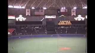 Astrodome Scoreboard Goes Dark 09/06/1988