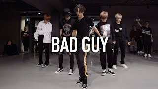 Bad Guy   Billie Eilish  Koosung Jung Choreography With THE BOYZ