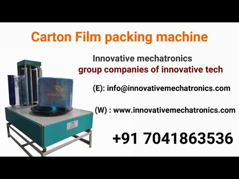 Carton Box Wrapping Machine